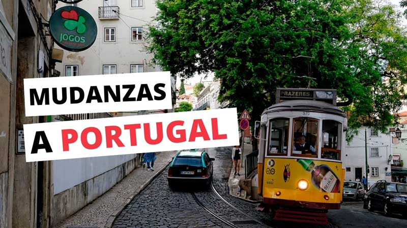 Mudanzas Internacionales España Portugal