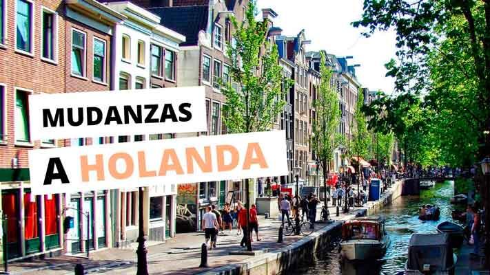 Mudanzas España Holanda. Nuestros servicios.
